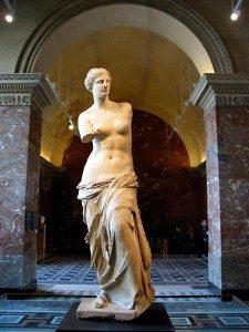 La Venus de Milo, siglo II a.C.